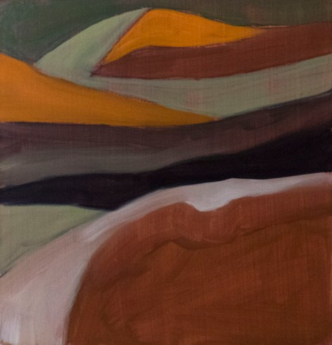 Southland Series Study  2 -Underpainting
