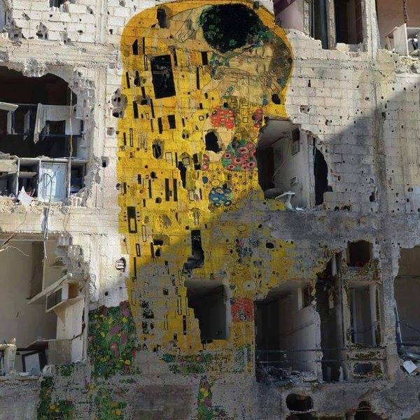 freedom and art,Klimt in Syria