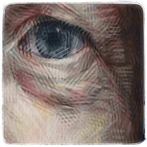 salon des refuses,Sally Robinson - self portrait