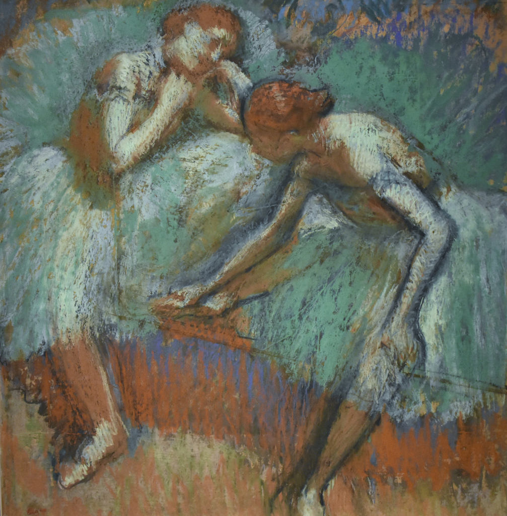 degas paintings photo