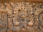 A carving at Banteay Srei.