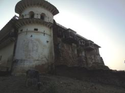 Alipura palace and Frank and Tim's balcony