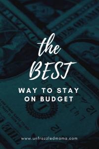 manage money, budget, save money