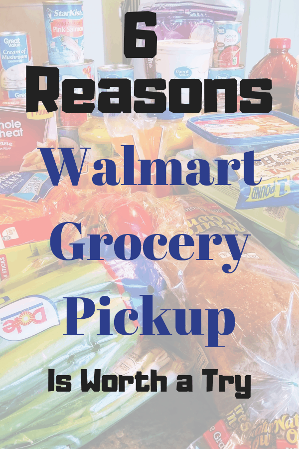 6 reasons to get your groceries with Walmart grocery pickup. #walmartgrocerypickup #walmart