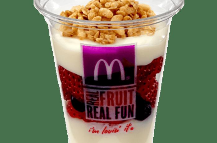 Photo of a Fruit 'N Yogurt Parfait courtesy of McDonalds