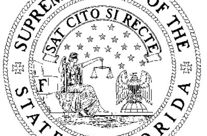 Seal of the Florida Supreme Court.