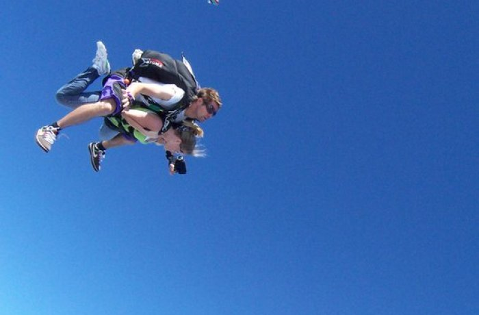 Photo courtesy of Skydive Space Center