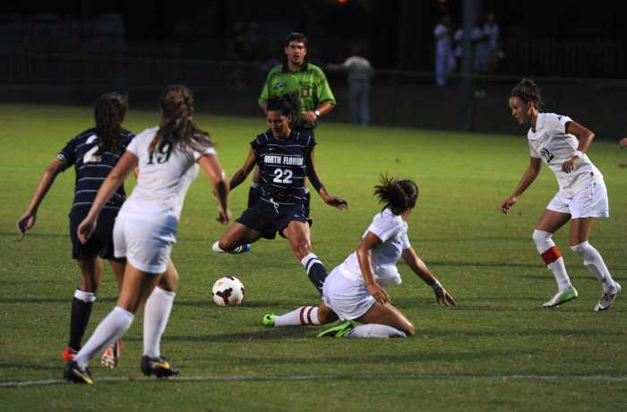 Women's soccer drops match to JU, head coach absent