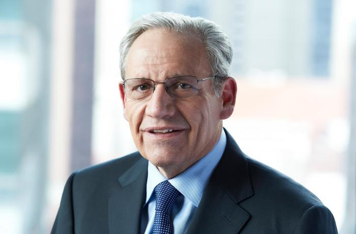 Bob Woodward spoke at the UNF Arena on January 21st. Photo courtesy of Facebook.