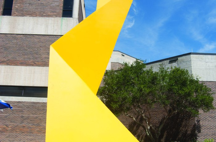 New abstract sculpture installed at UNF
