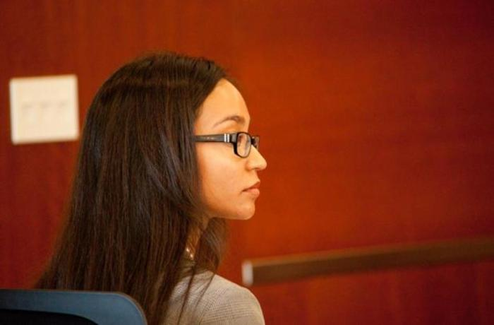 Senate President Kaitlin Ramirez was issued a notice of noncompliance that brought her to court.Photo by Joshua Brangenberg