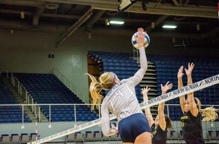 Women's volleyball faces tough battle against number one ranked Lipscomb