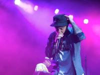 Mac Miller performs in the rain at UNF