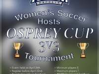 UNF women's soccer team hosts fundraising Osprey Cup Tournament