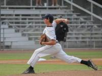 Evan Incinelli (21) pitches the ball during the game on May 14 against KSU.