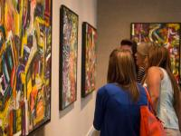 """The gallery opening for the """"UNITY"""" exhibition by Allen took place on May 21 at Lufrano Intercultural Gallery in the Student Union."""