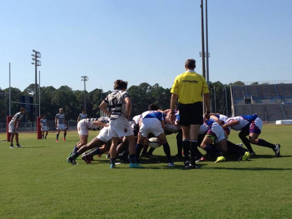 The UNF Rugby Football Club emerged victorious in their home opener against FAU. Photo by Al Huffman