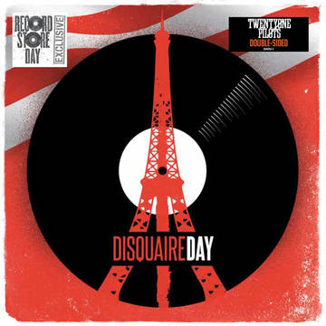 *This record is being pressed to support record stores in France. They're only pressing 7500 copies, so I wouldn't expect to find it in Jax. Photo courtesy Record Store Day.