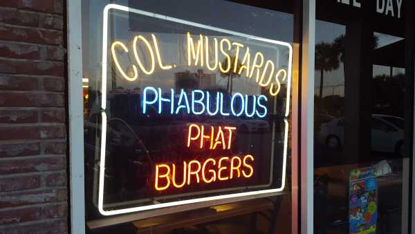 Colonel Mustard's Phat Burgers on Third Street offers big meals at a good price. Photo by Courtney Stringfellow