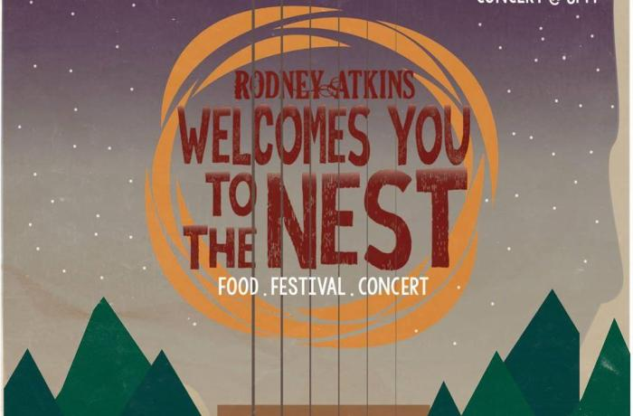 Rodney Atkins to headline Welcome to the Nest Festival