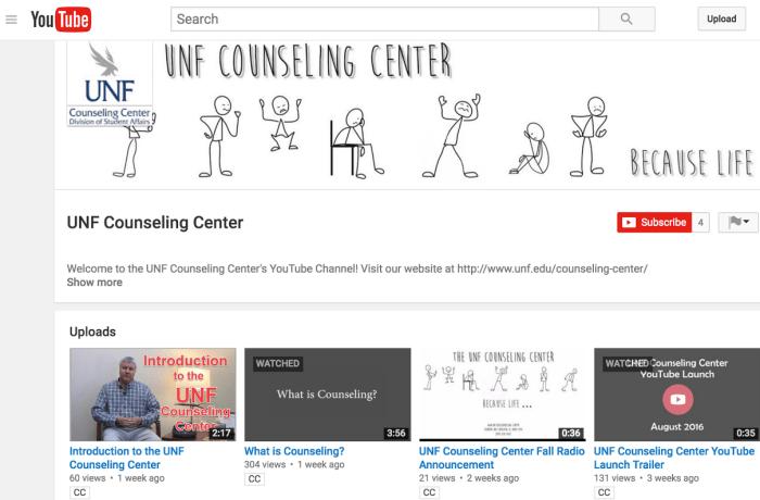 Counseling Center joins social media