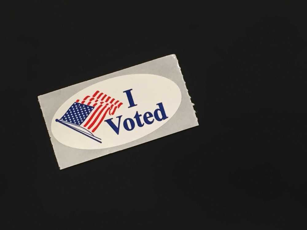 Get this sticker on election day, and cash in at these places.Photo by Cassidy Alexander