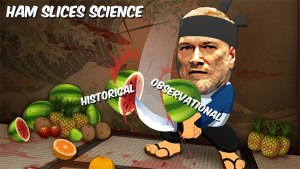 Samurai Ken Ham and the Biblical Watermelon