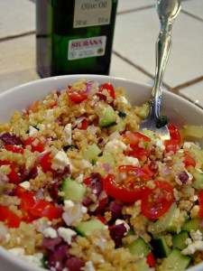 Quick Eats: Middle Eastern Grain Salad