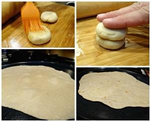 Homemade Moo Shu Pancakes