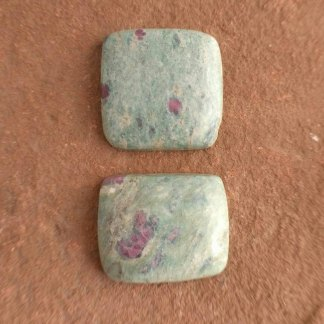 Ruby in Fuchsite Cabochons
