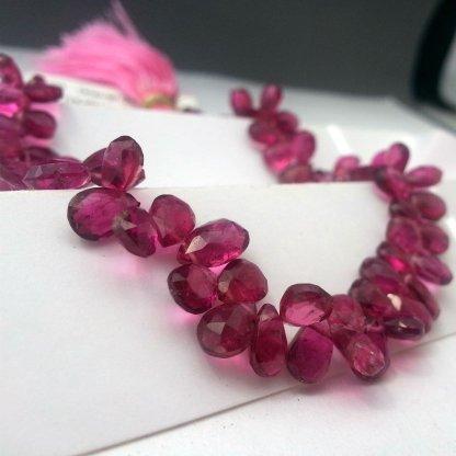Rubellite Tourmaline Beads