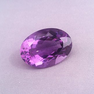 Amethyst Oval Gemstone