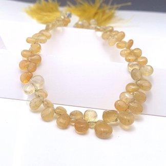 Yellow Aquamarine Beads
