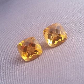 Cushion Cut Citrine