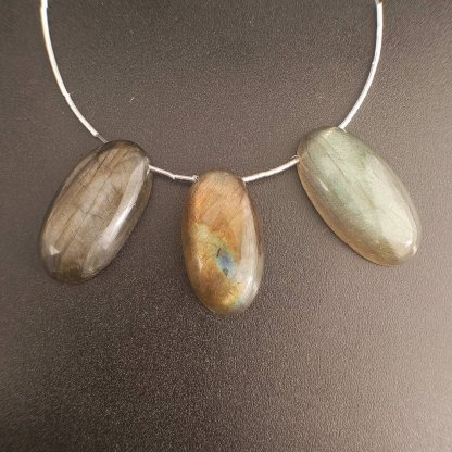 labradorite pendant beads