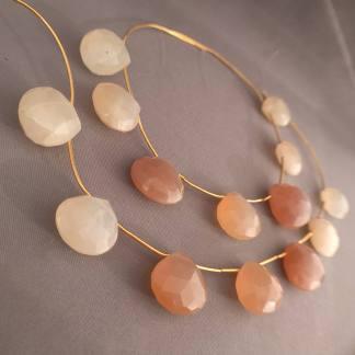 Big Moonstone Beads