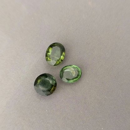 Green Tourmaline Cabochon