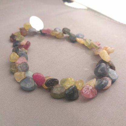 Rough Sapphire Beads