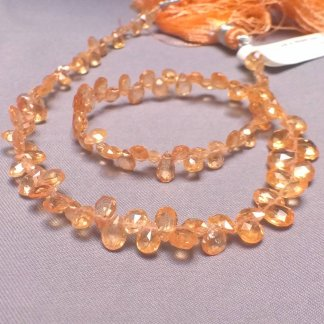 Mandarin Garnet beads