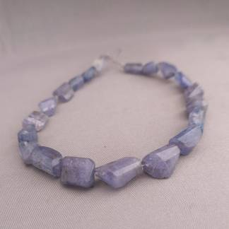 Tanzanite Nugget Beads