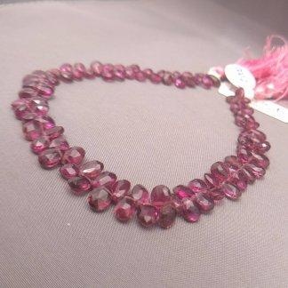 AAA Pink Tourmaline Briolettes
