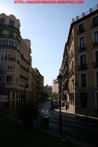 Calle de Arrieta desde la Encarnación