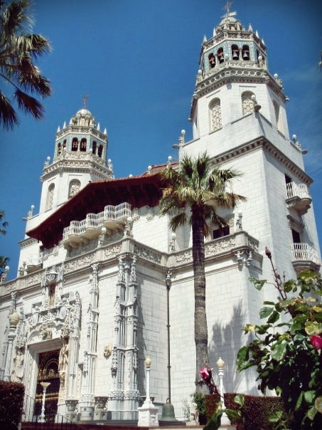 The Casa Grande is the 60,645 square-foot centerpiece of Hearst Castle. (Wikipedia)