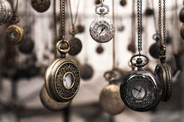 assorted silver colored pocket watch lot selective focus photo representing  how to learn how to transcend time