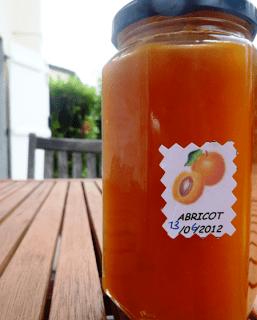 Confiture d'abricot toute nature