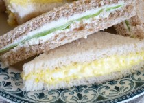British club sandwiches