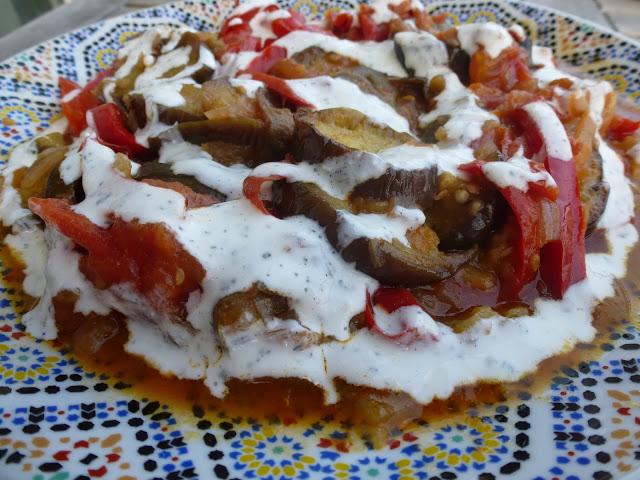 Bandjan bourani, aubergines façon Afghane