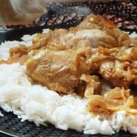 Yassa poulet venu tout droit du Sénégal