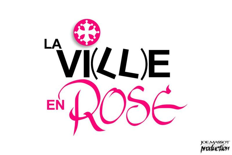 logo la ville en rose