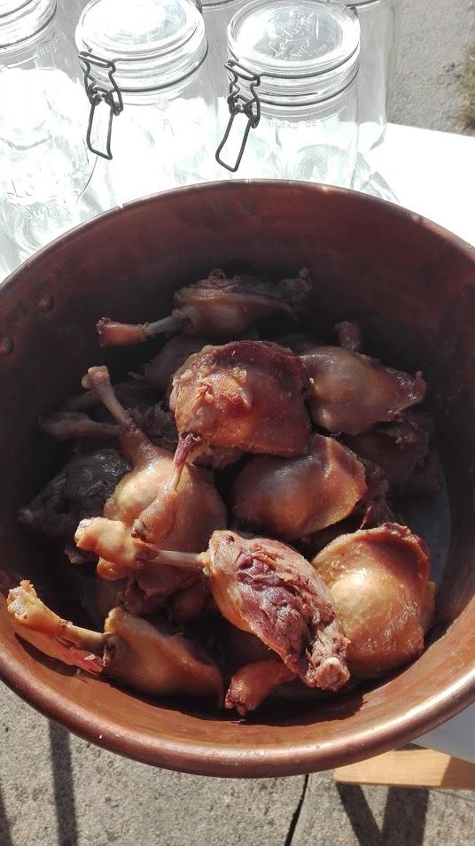 Confits de canard maison pas à pas : préparer les canards gras
